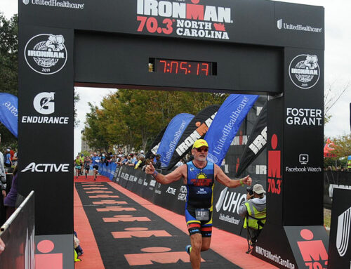 IronMan NC 70.3 Triathlon Destination Race 2019